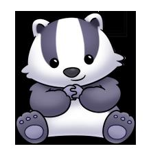 vector royalty free Honey he doesn t. Badger clipart clip art.