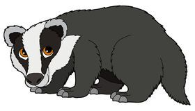 graphic black and white download Panda free images . Badger clipart clip art.