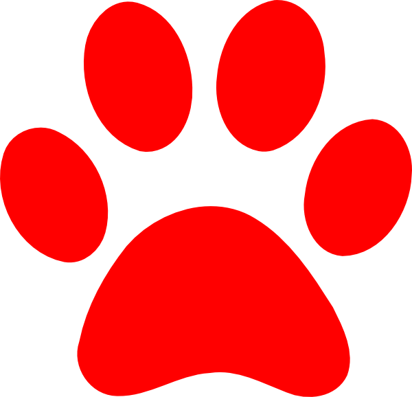 vector freeuse stock Bear paw clipart. Silhouette at getdrawings com
