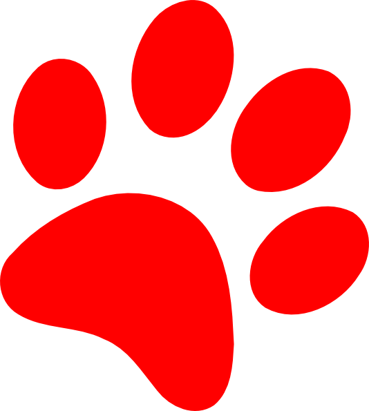 picture library Dog Paw Prints Clipart