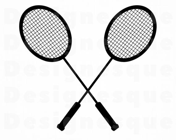 picture freeuse download Badminton clipart. Logo svg files for.