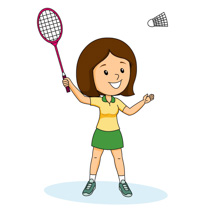 png freeuse library Free cliparts download clip. Badminton clipart