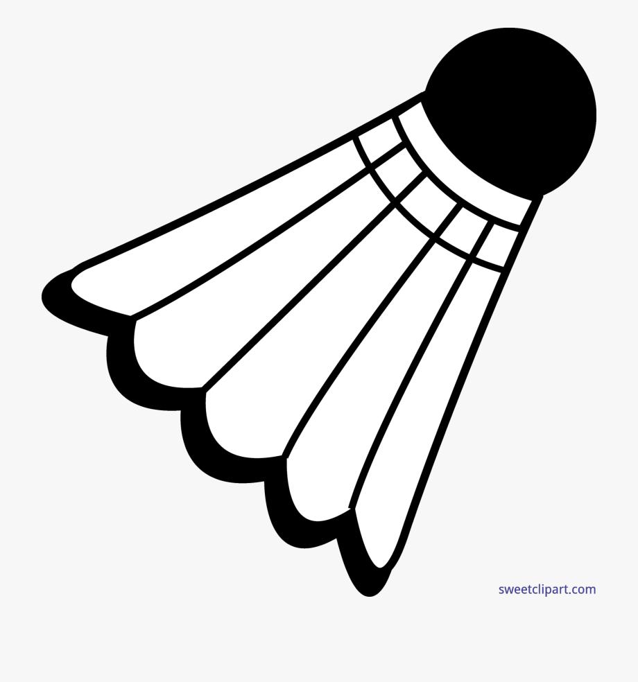svg transparent Badminton clipart badminton birdie. Net clip art .