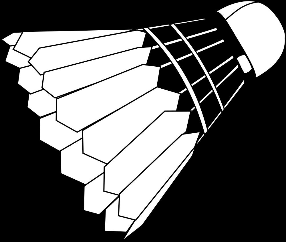 clip freeuse download Onlinelabels clip art shuttlecock. Badminton clipart badminton birdie.