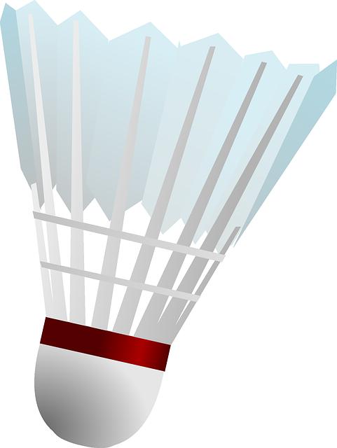 banner library stock Badminton clipart badminton birdie. Free image on pixabay.
