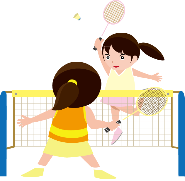 picture library Badminton clipart kid play. Free on dumielauxepices net.