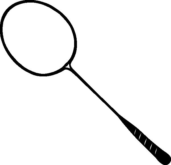 clip art download Badminton Racket Clip Art at Clker