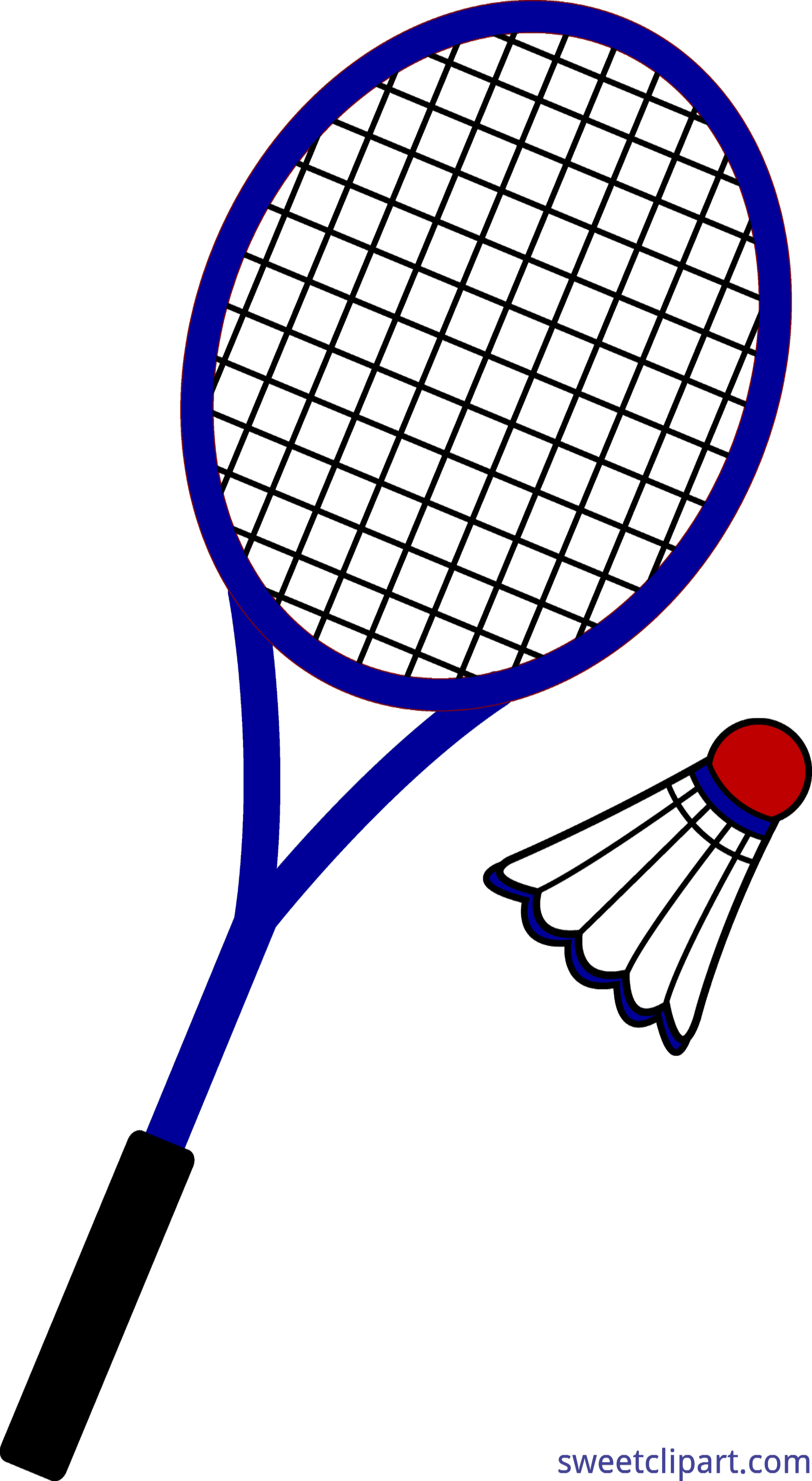 black and white stock Badminton clipart. Clip art sweet.