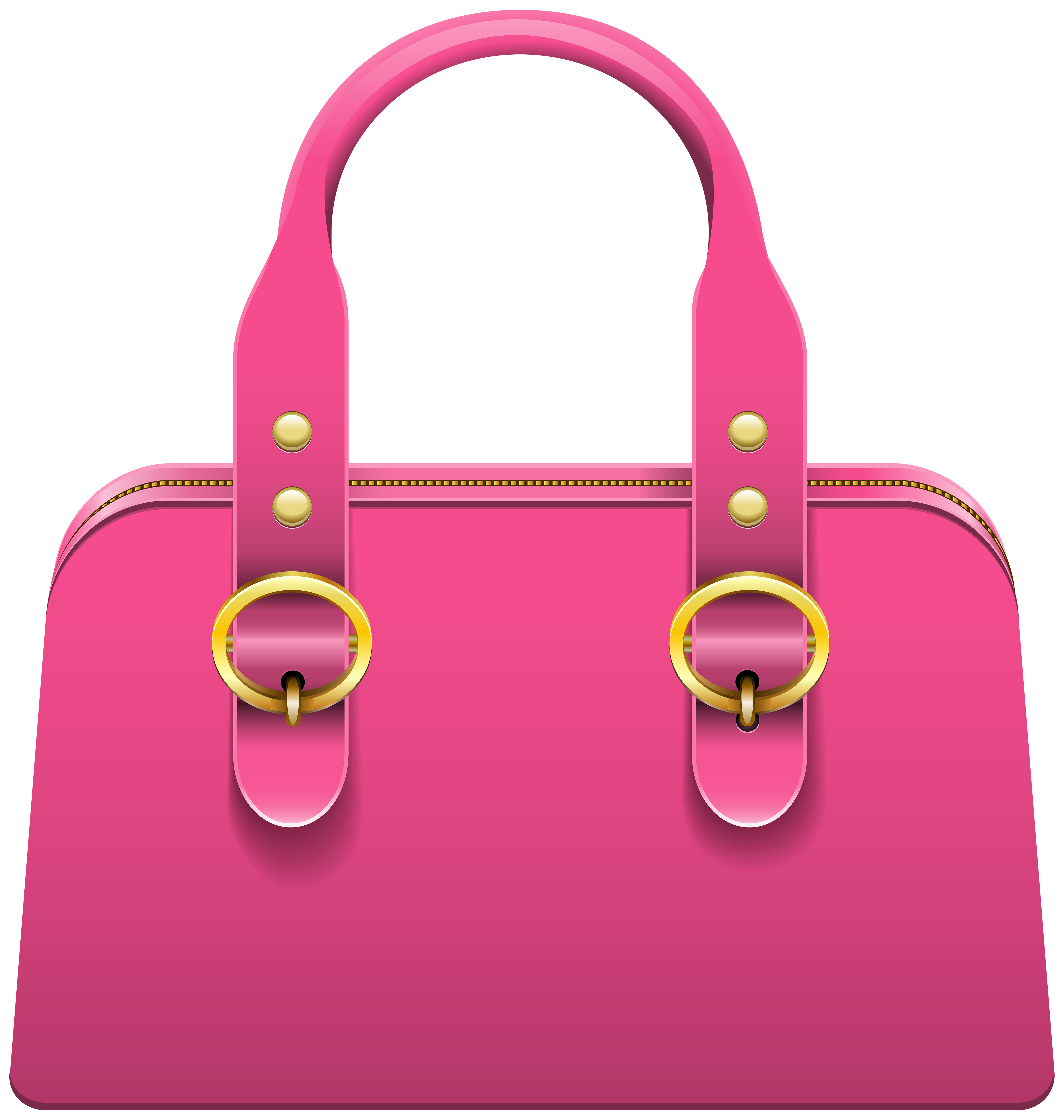 banner free Bag clipart. Handbag pink png clip.