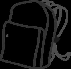 vector transparent stock Backpack Clip Art at Clker