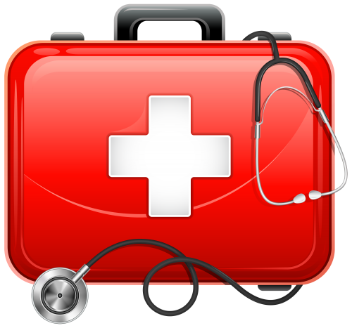 png freeuse download Medical Bag and Stethoscope PNG Clipart