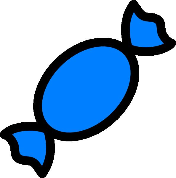 clipart transparent stock Blue Candy Clip Art at Clker