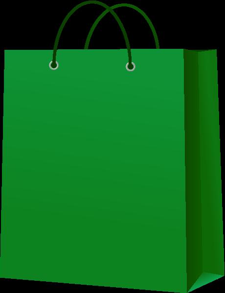 clip art stock Paper dark green icon. Bag vector