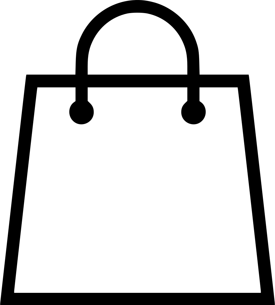 clip art royalty free library Bag vector. Shopping svg png icon