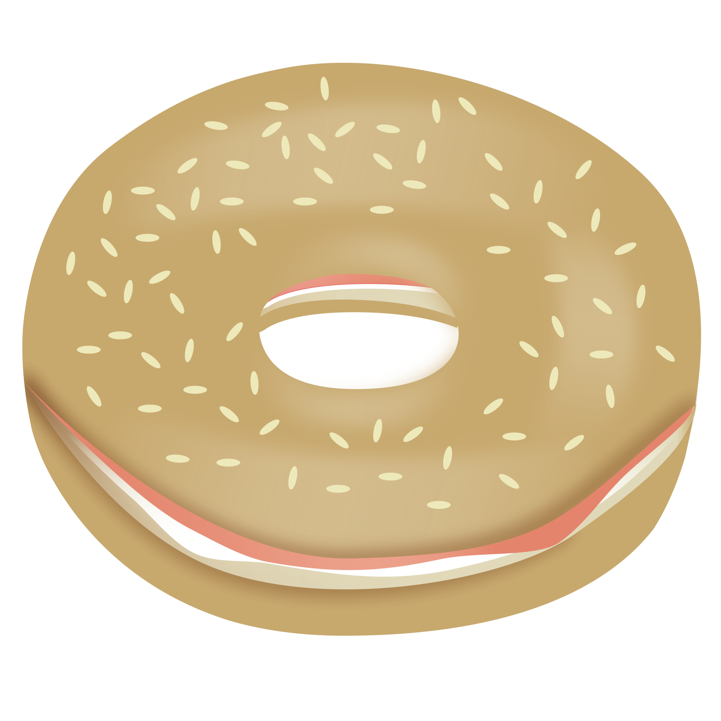 graphic free download Bagel clipart. Designing a emoji v