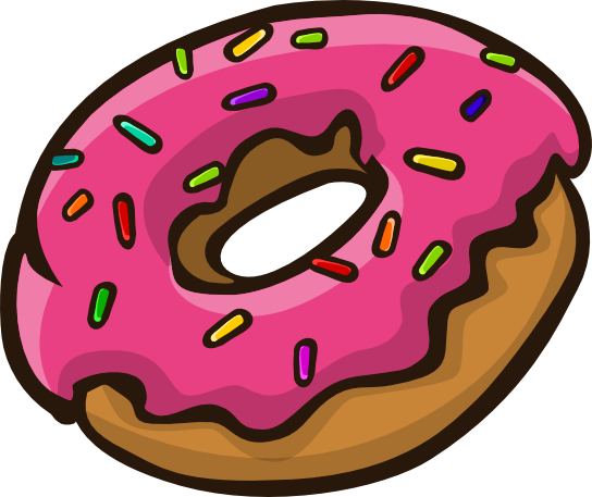 png freeuse download Bagel animated free on. Donut clipart