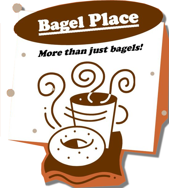 png transparent Place amarillo texas . Bagel clipart coffee bagel.