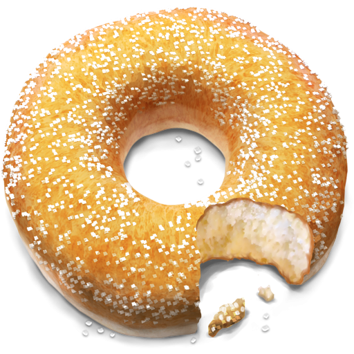 clipart transparent download Icon png image iconbug. Doughnut clipart cider donuts.