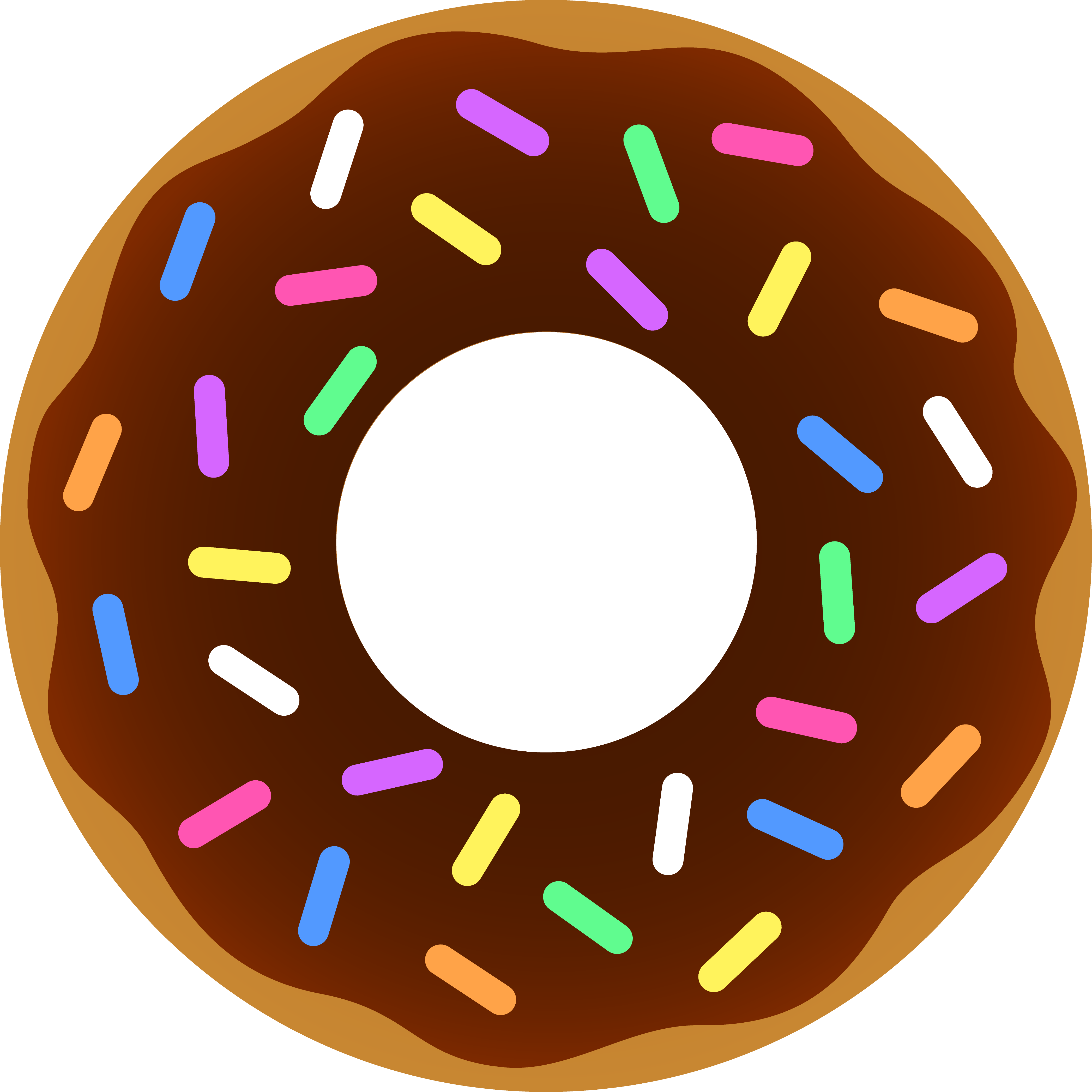 picture free library Doughnut Clipart pastry