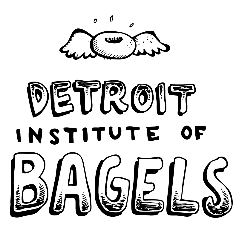 graphic freeuse stock The DIB is a Detroit bagel shop abiding by