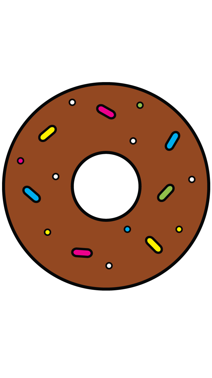 royalty free library Delicious Doughnut http