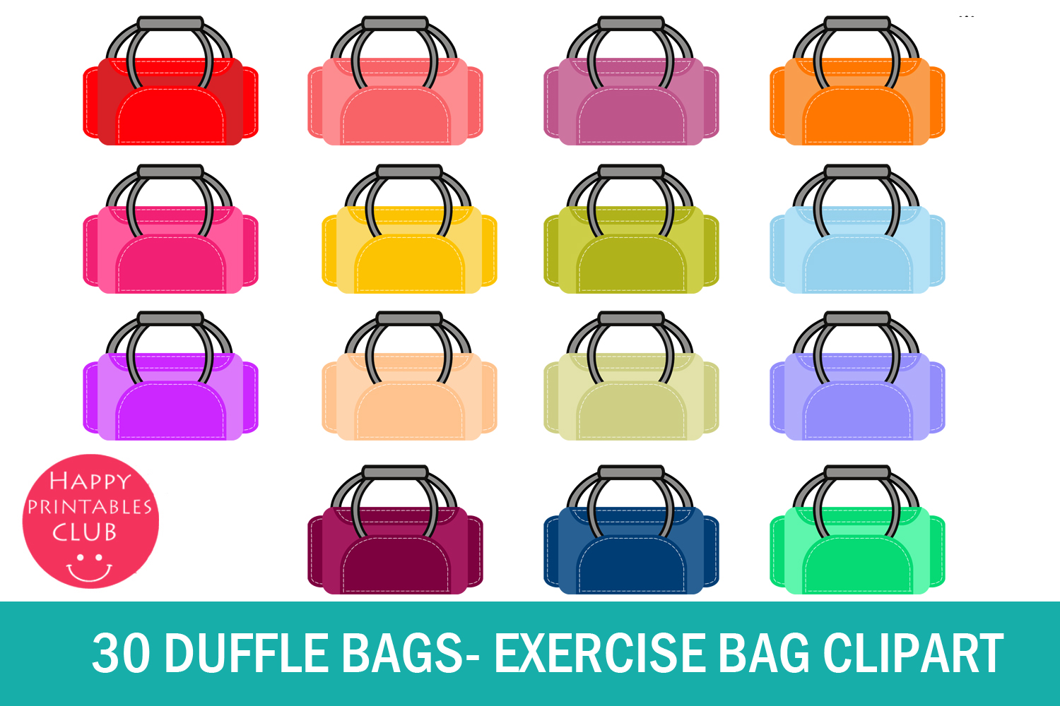 svg black and white stock Duffle exercise bag graphic. Bags clipart
