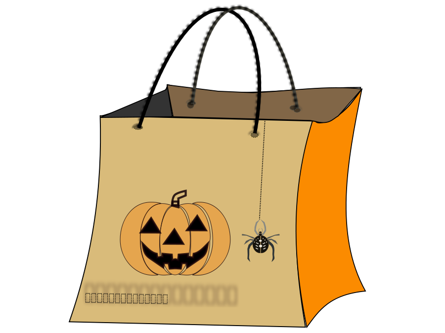 image royalty free library Shopping bag orange free. Bags clipart