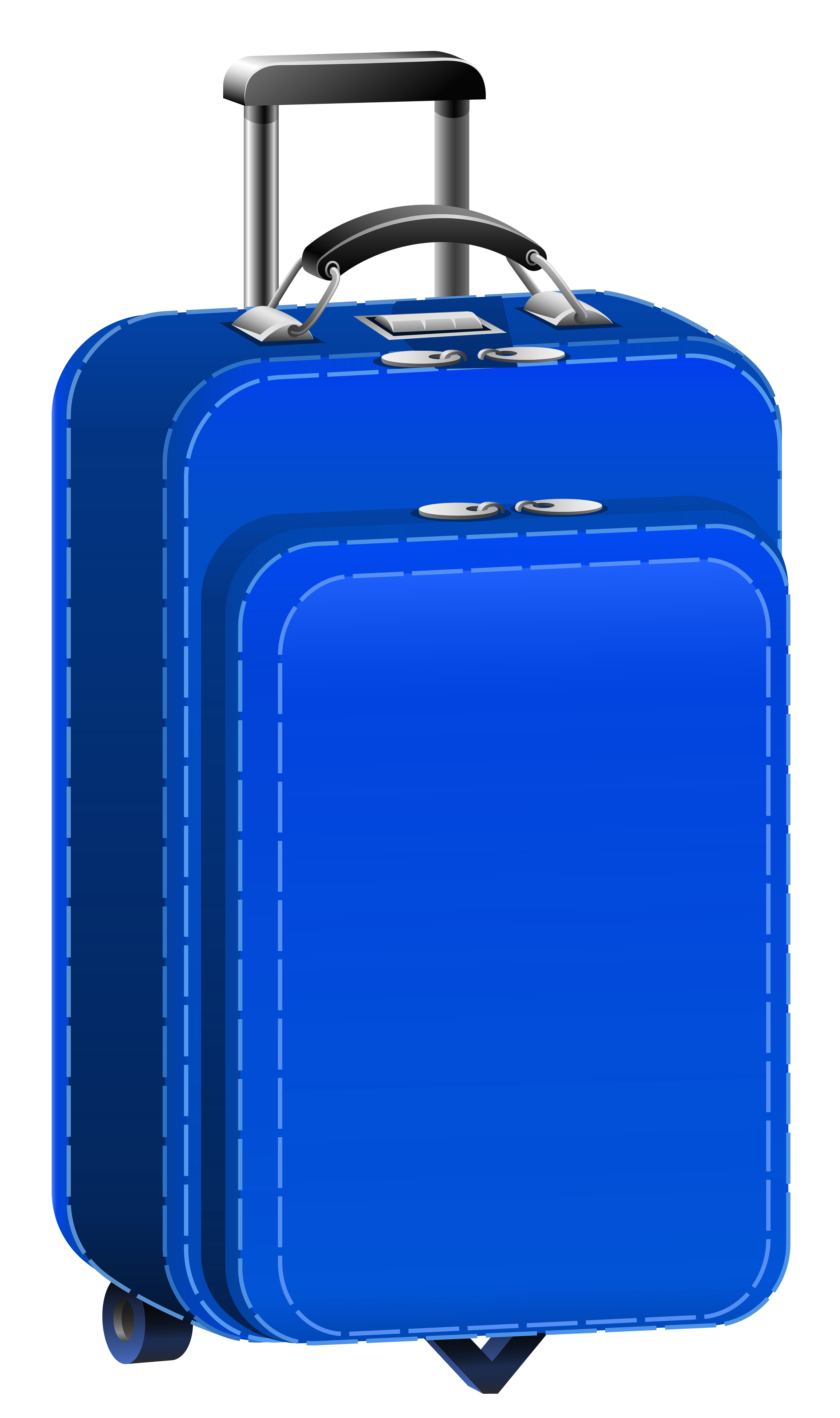 banner black and white Blue bag png picture. Briefcase clipart travel case.