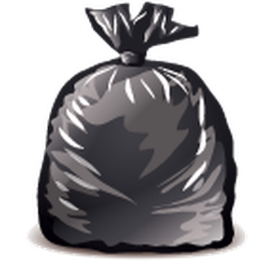 clip download Garbage icons detailed clipart. Trash drawing bag.