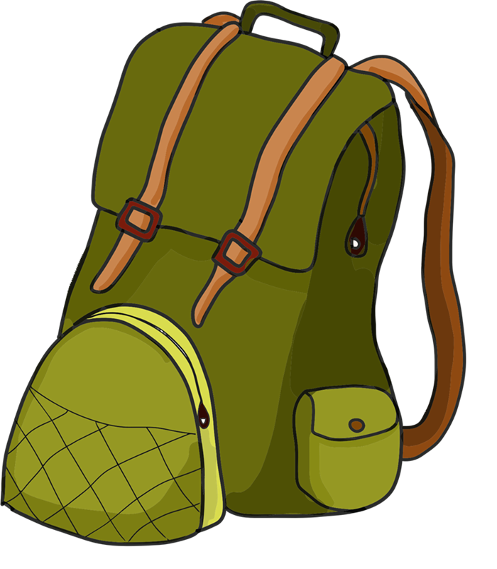 clip art black and white download Bookbag clipart empty backpack. Png transparent images group