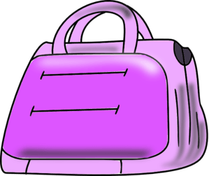 picture royalty free Bags clipart library bag. Free colorful purses cliparts.