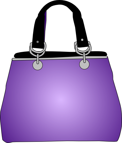 clip Purse clip art at. Bags clipart purple bag.