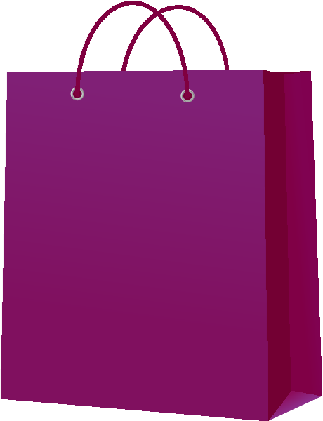 svg royalty free library Bags clipart purple bag. Paper vector icon svg.