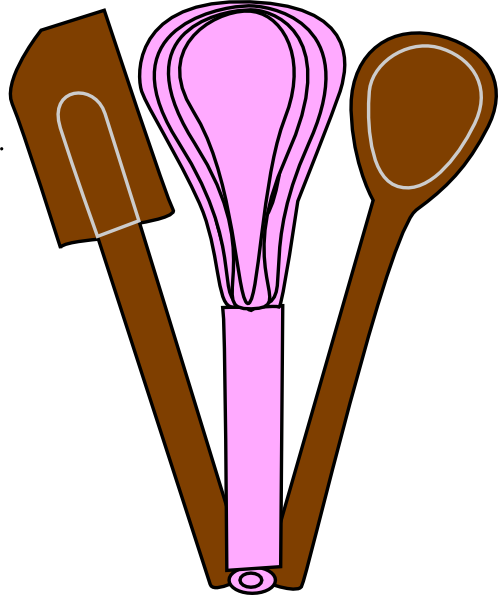 graphic free library Bakery clipart cooking baking. Utensils clip art at