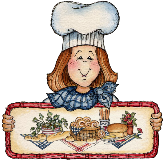 clip royalty free Bakery clipart. Cook baking bread by.