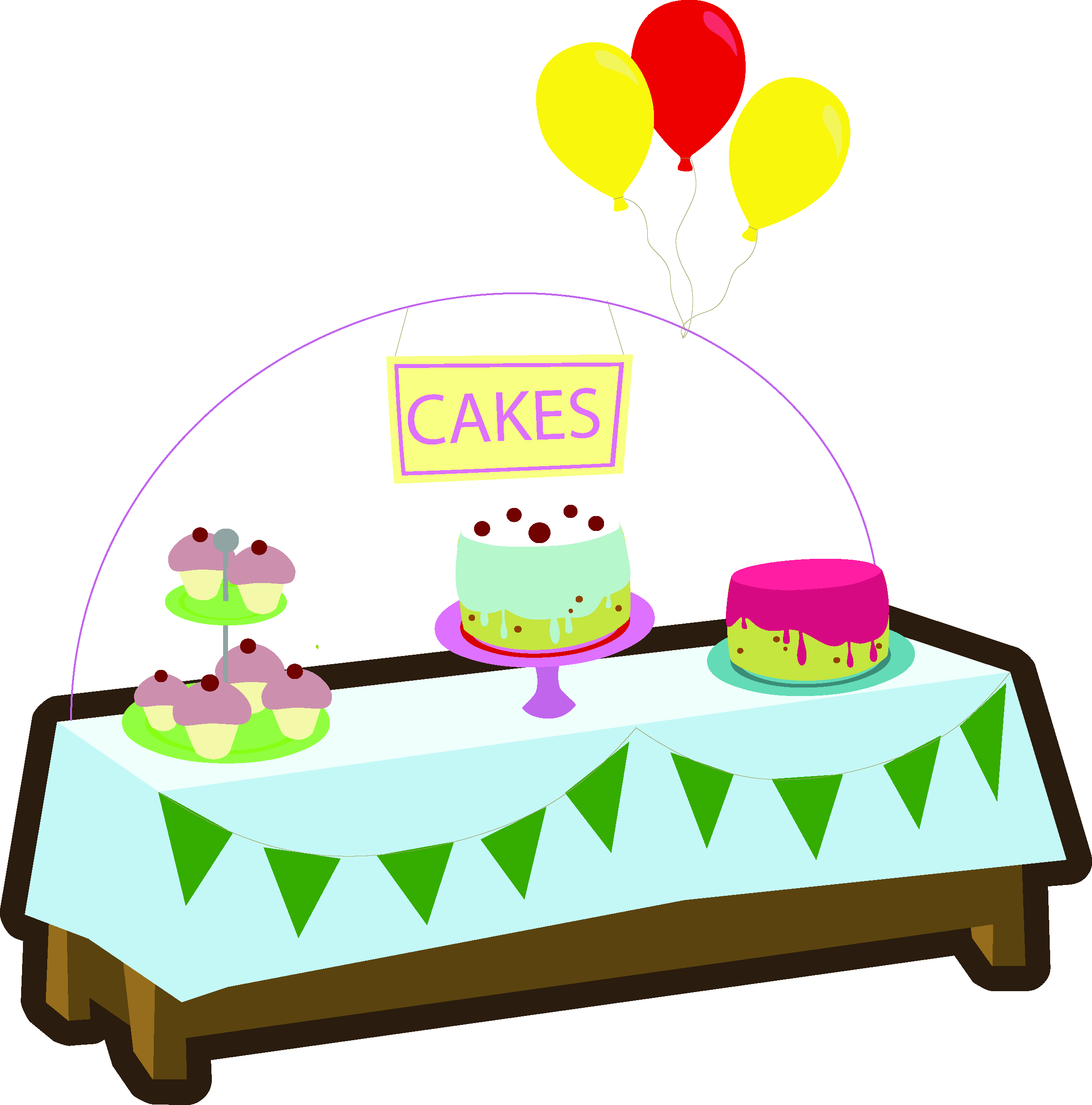 black and white stock Baking transparent . Bake clipart cake stall.