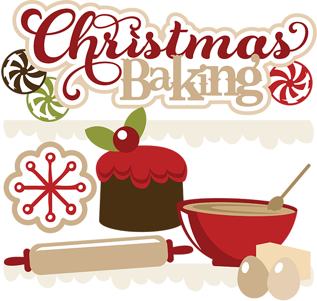 png black and white stock Bakery clipart frame. Free christmas baking shopping.