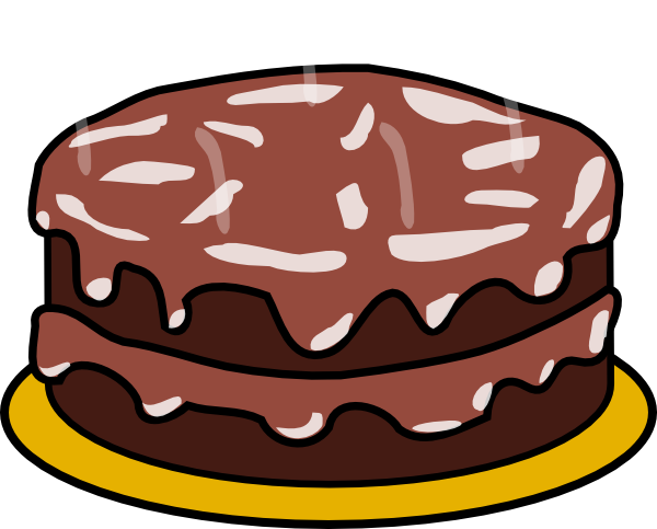 clipart royalty free download Dessert baked goods free. Chocolate clipart
