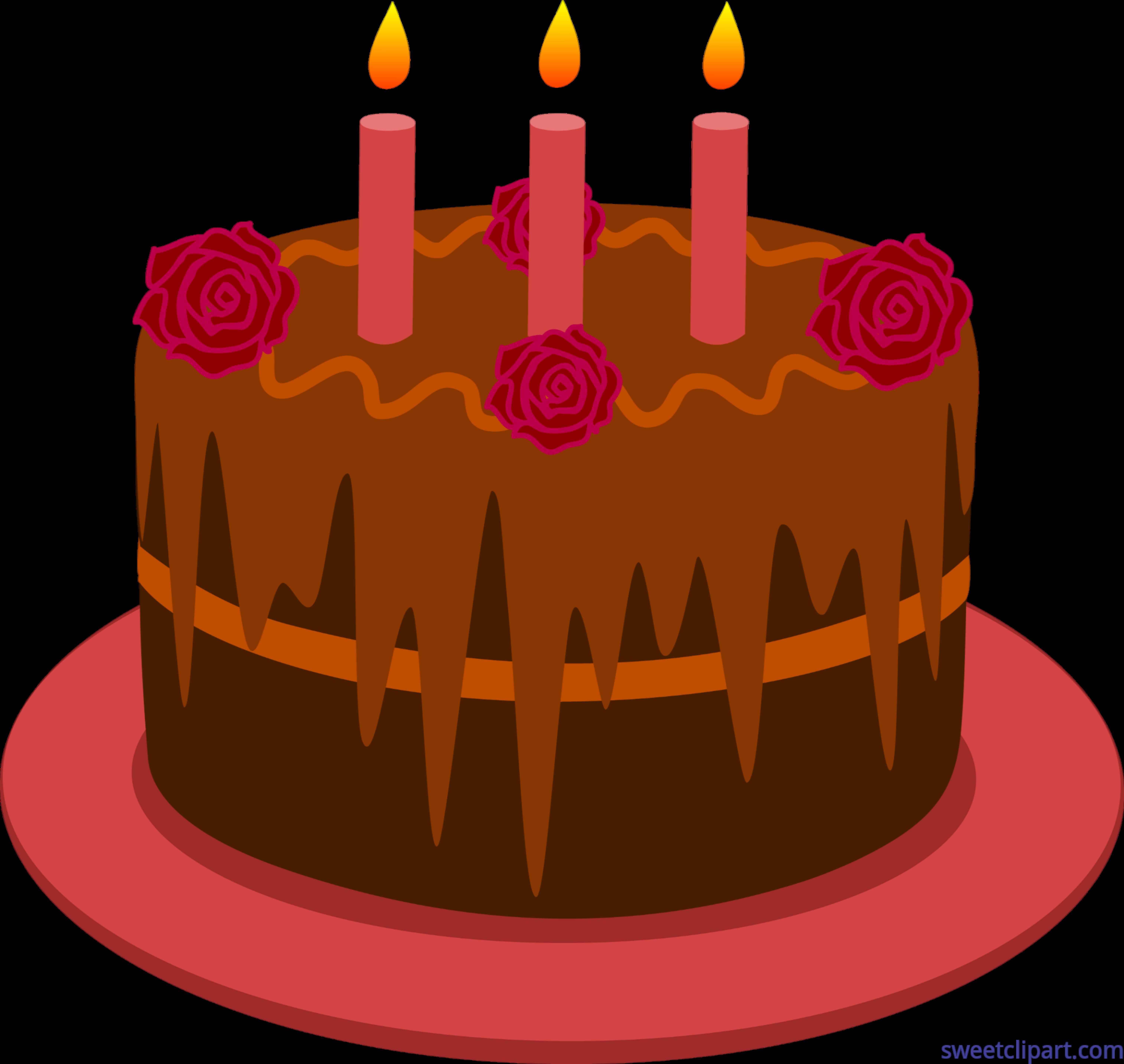 image free download Cake clip art sweet. Chocolate transparent birthday