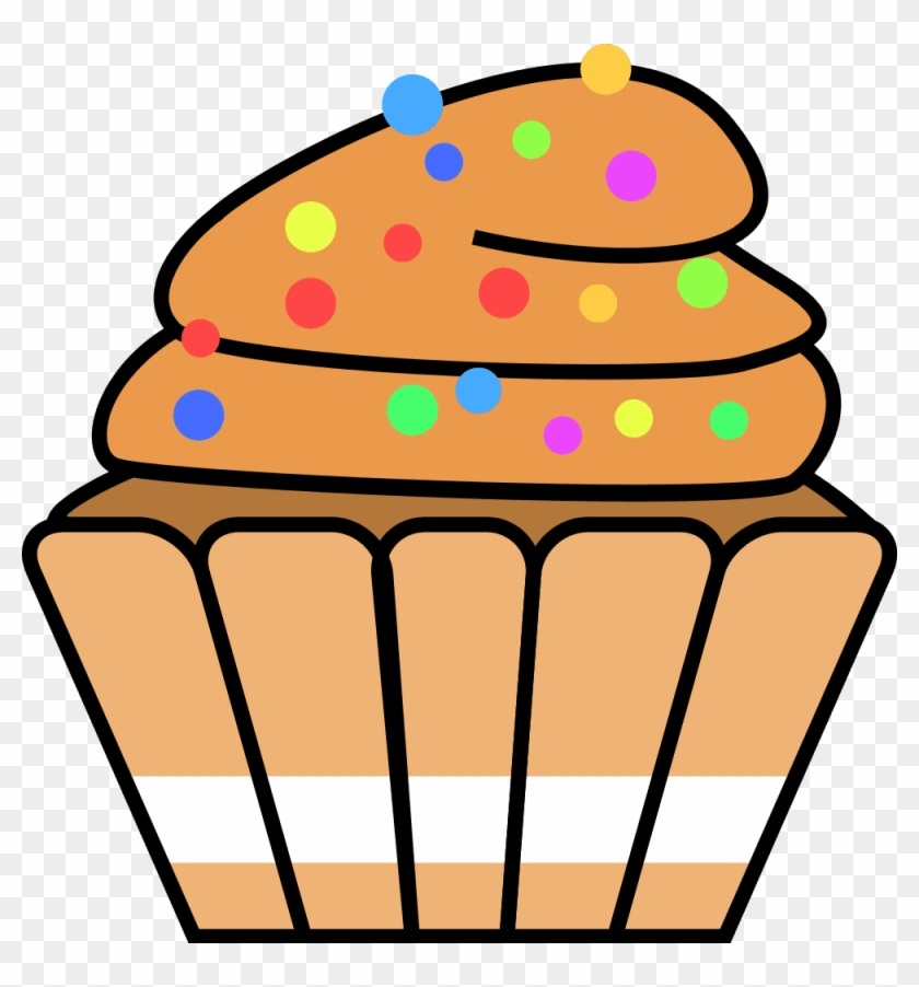 jpg transparent download Baked goods clipart cute. Cupcake free frames clip.