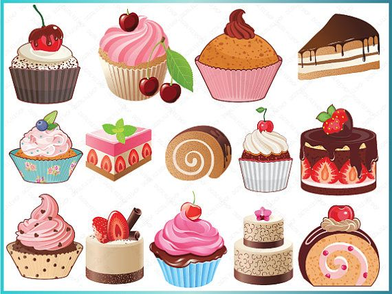 picture stock Free bakery cliparts download. Baked goods clipart cute.