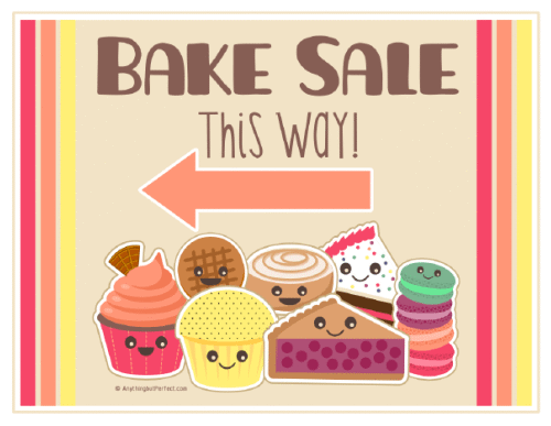 vector free download Bake printables sweet save. Baked goods clipart table top sale.