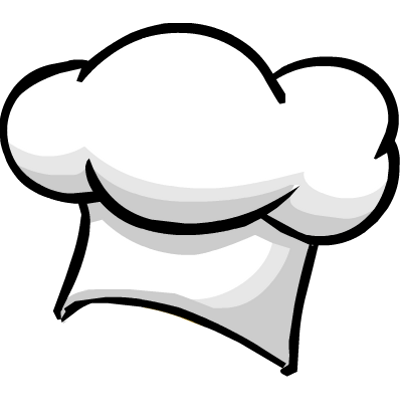 jpg black and white stock Chef hat transparent png. Hats clipart baking