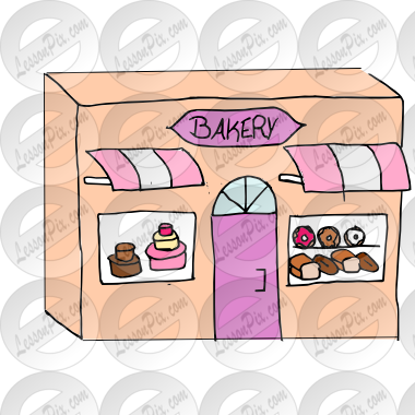 clipart library stock Picture for classroom therapy. Bakery clipart.