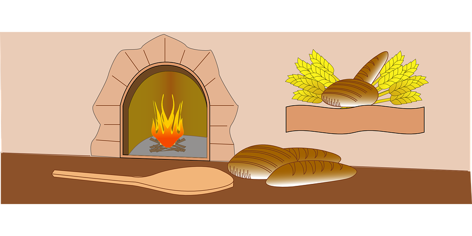 picture library Bakery clipart. Oven bread free on.