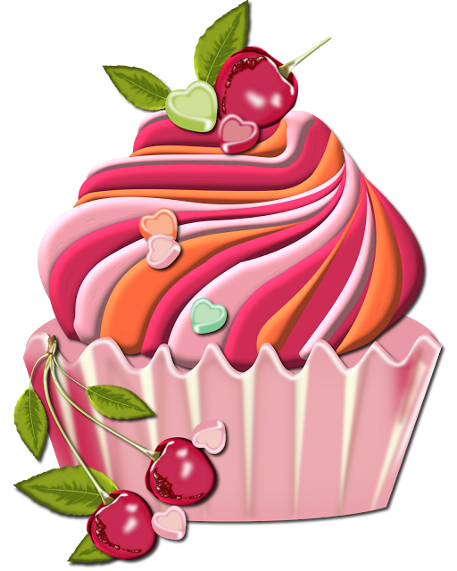 banner royalty free stock CUPCAKE