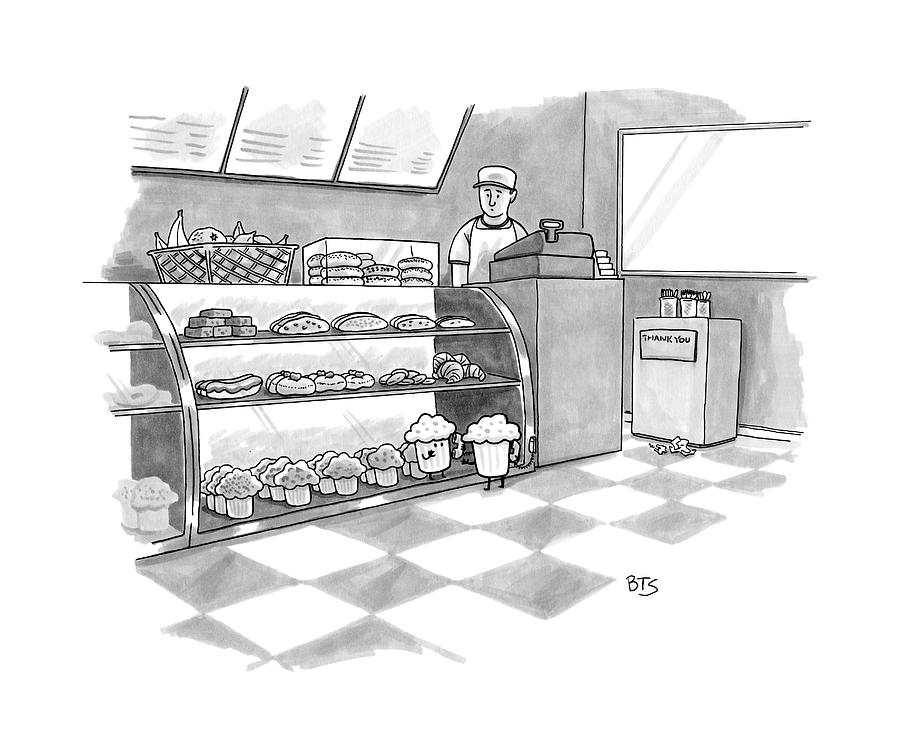 clip library stock In a . Bakery drawing