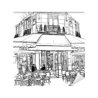 clip art transparent library Collection of free Cafe drawing paris