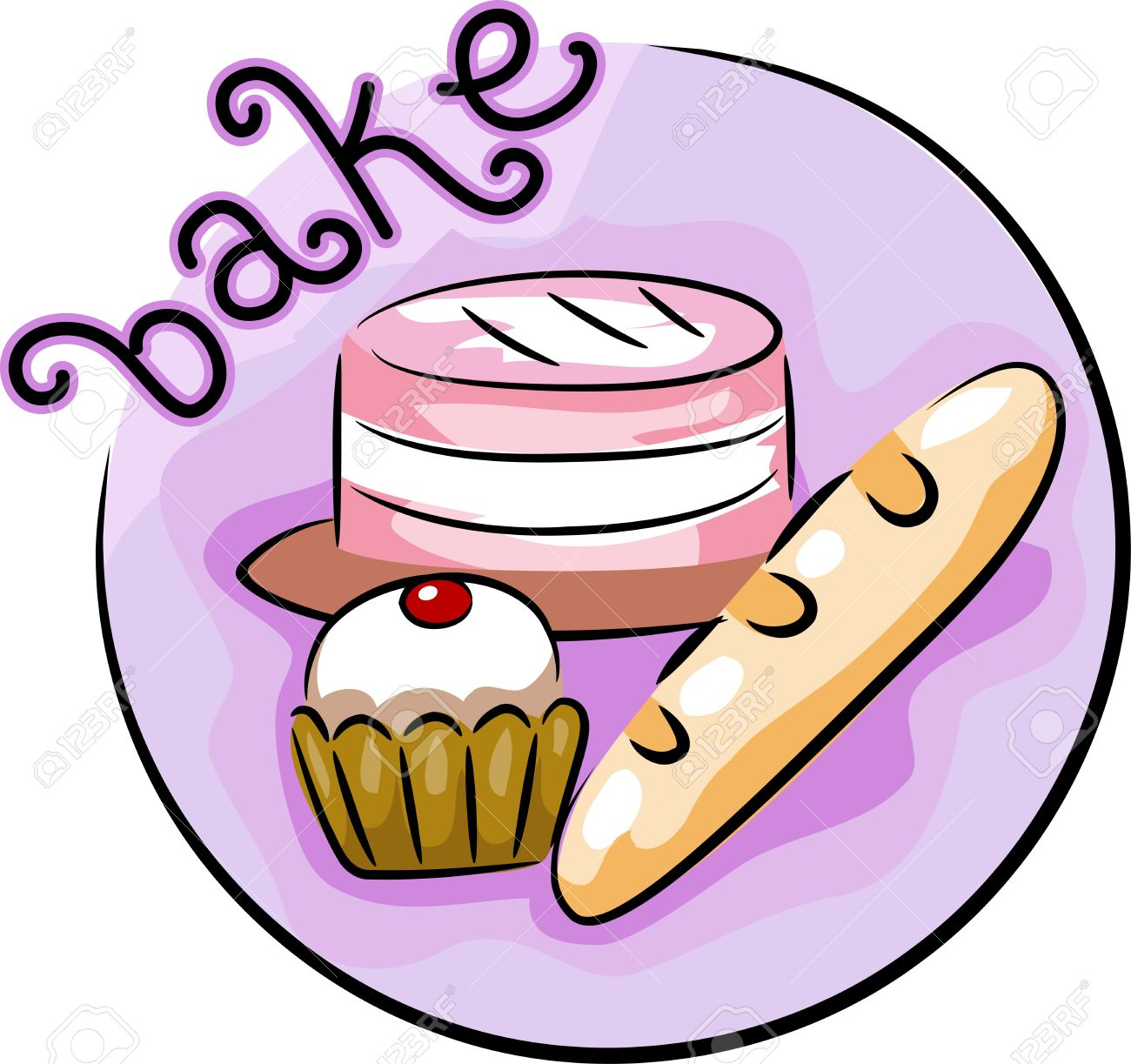 vector freeuse stock Baking clipart. Clip art free panda.