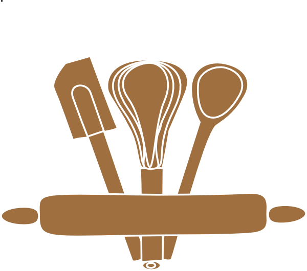 transparent library Baking Utensils Clip Art at Clker